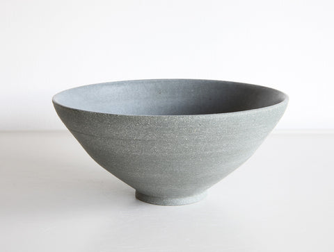 Medium Grey Stone Bowl by Mark Robinson