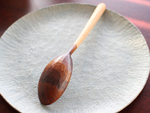 Half Lacquer Table Spoon