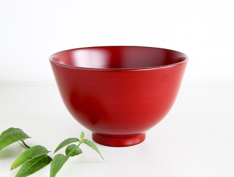 Red Winged Soup Bowl by Tomoaki Nakano