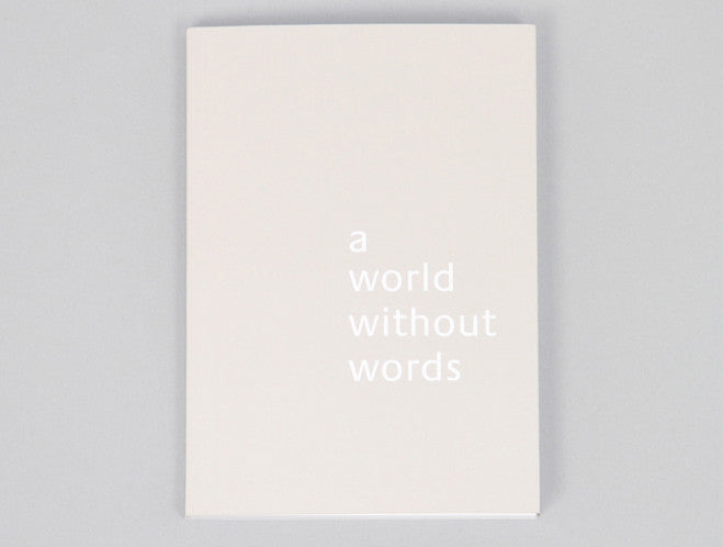 Jasper Morrison: A World Without Words by Lars Müller at OEN Shop