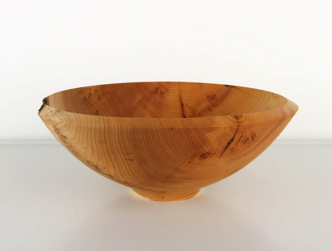 Yew Bowl by Jonathan Leech at OEN Shop