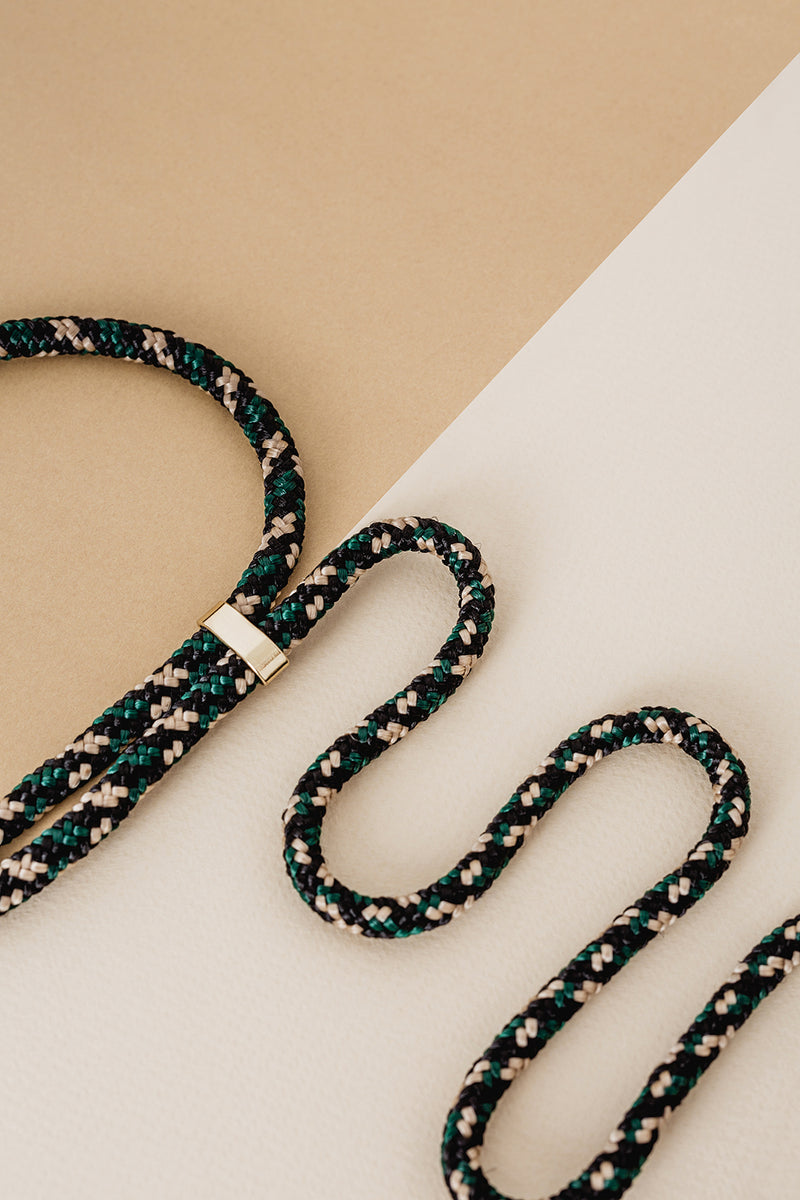 Lassoo Camo Cord accessory. Exchange the Cord on your smartphone necklace to match any fashion outfit.