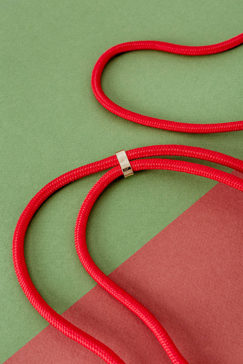 Lassoo Flame Cord accessory. Exchange the Cord on your smartphone necklace to match any fashion outfit.