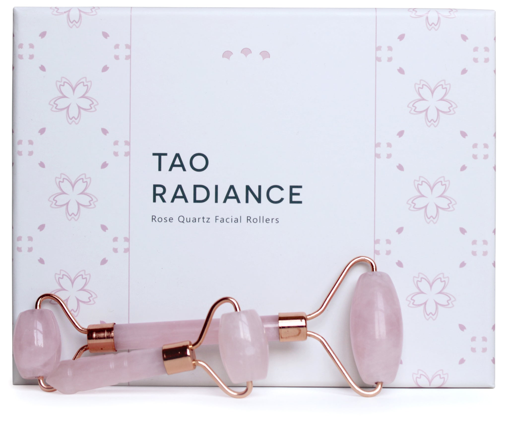 Sakura Rose Quartz Roller Set