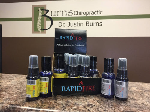 Rapid Fire Relief Lemongrass - Spray