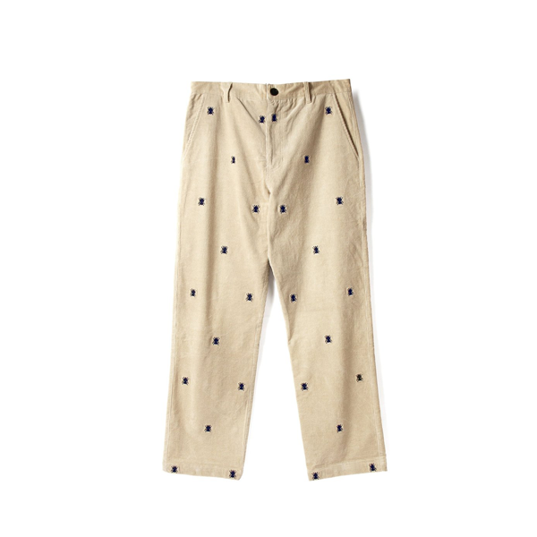 Butter Goods - Fly Corduroy Pants - Natural / Navy