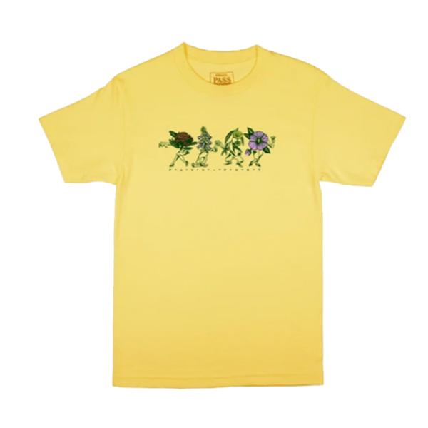 Passport - Floral Friends Tee - Banana M