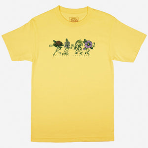 Passport - Floral Friends Tee - Banana XL