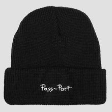 Load image into Gallery viewer, Passport - Toby Zoates Copper Beanie  Black