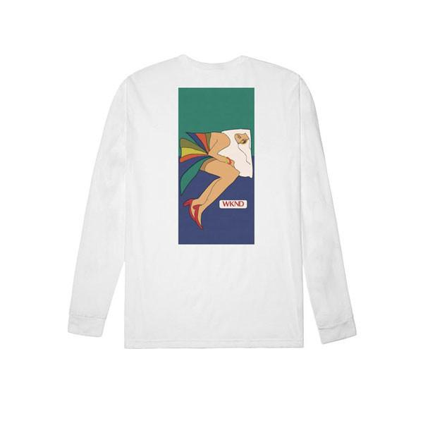 WKND - Silky Smooth L/S Tee White