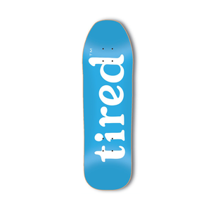 Tired Lowercase Logo Deck