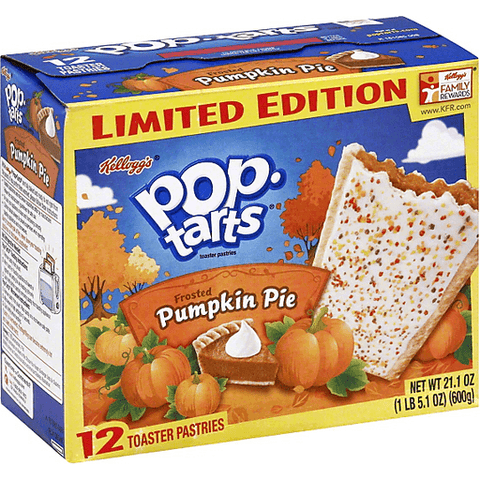 Pop-Tarts Limited Edition Frosted Pumpkin Pie