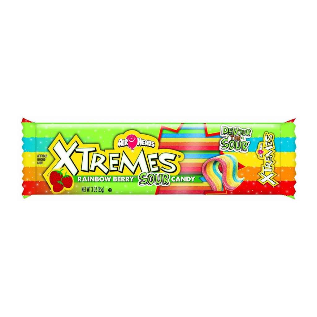 Airheads Xtremes Candy Rainbow Berry