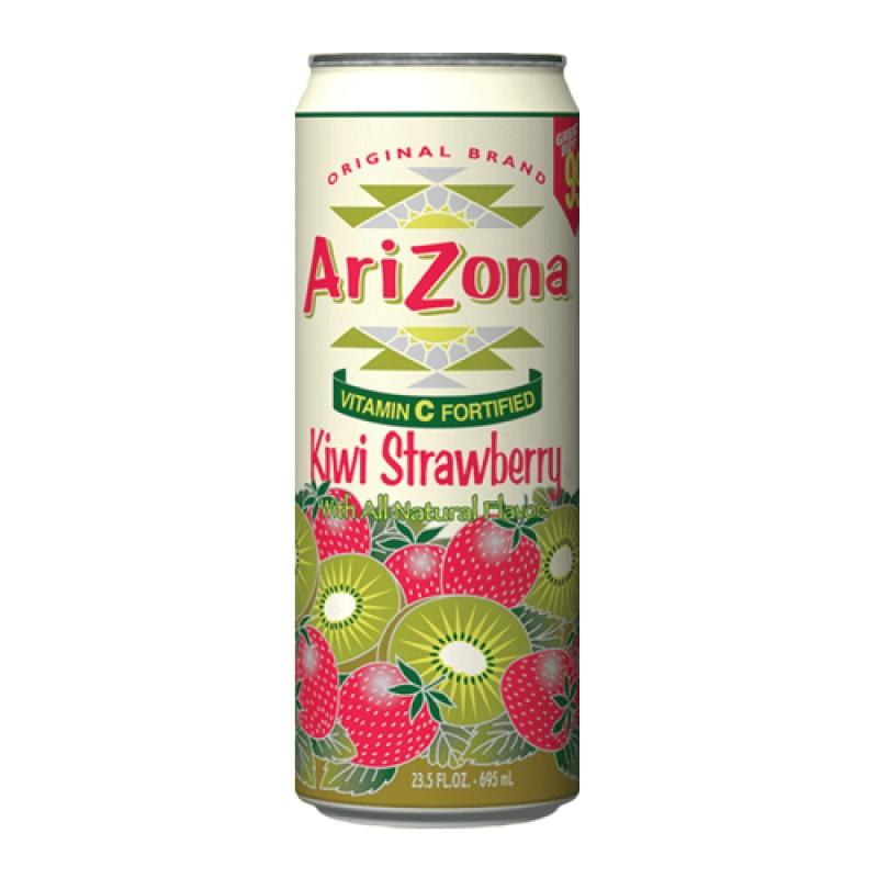 Arizona Kiwi Strawberry, tè freddo a kiwi e fragola da 680 ml (2083125657697)