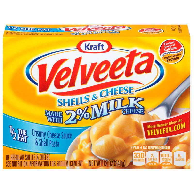 Velveeta Shells and Cheese