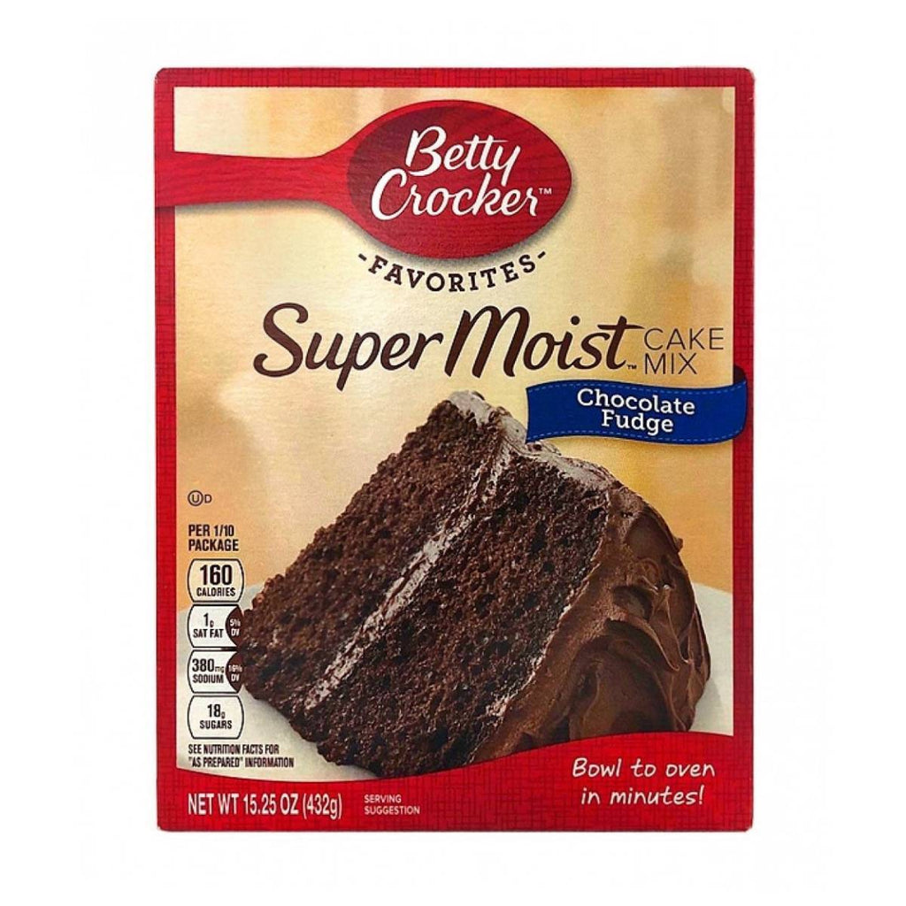 Betty Croker Super Moist Chocolate Fudge
