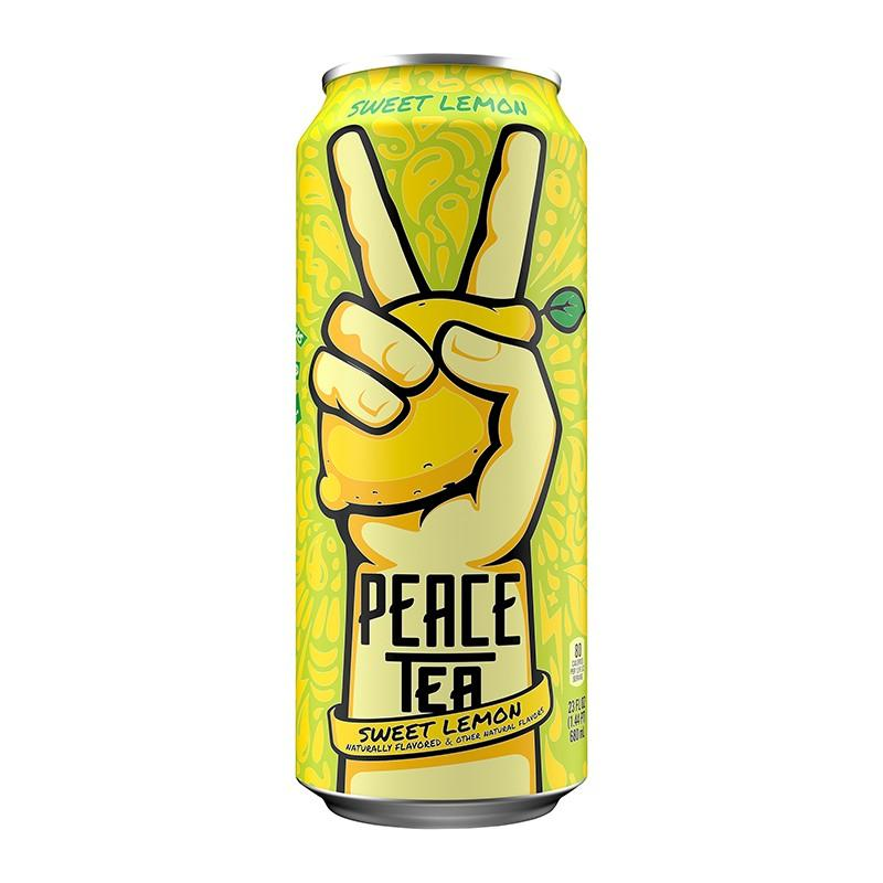 Peace Tea Lemon Citron, tè freddo a cedro e limone da 695 ml (2083120185441)