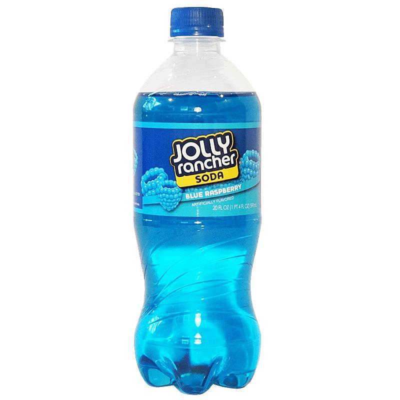 Jolly Rancher Soda Blue Raspberry, bevanda al mirtillo blu da 591 ml (1954214707297)