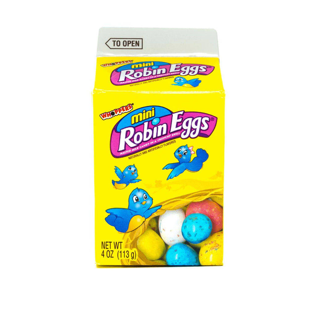 Whoppers Mini Robin Eggs, ovetti al latte e cioccolato da 113g (1954232860769)