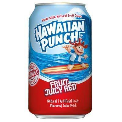Hawaiian Punch Fruit Juicy Red, bevanda analcolica alla frutta da 355 ml (1954205466721)