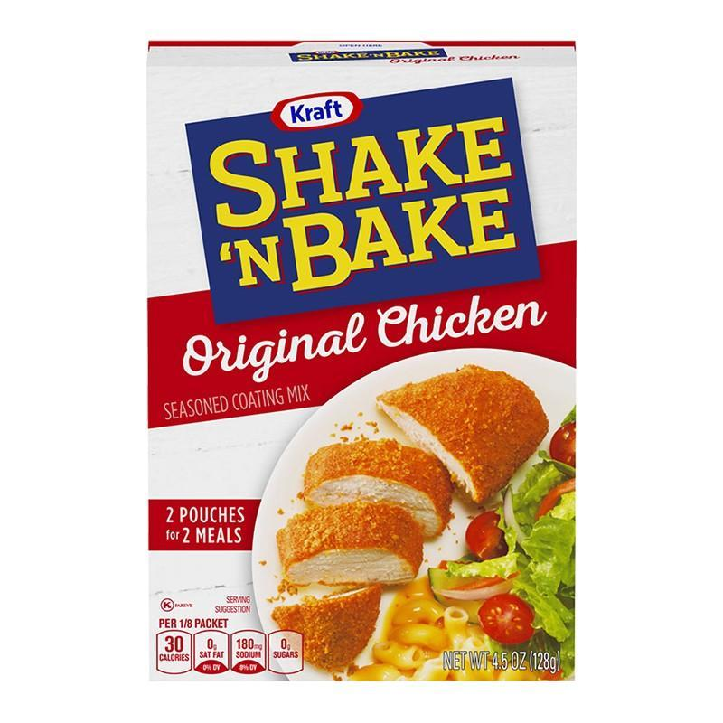 Shake 'n Bake Original Chicken, pangrattato per panature da 128g