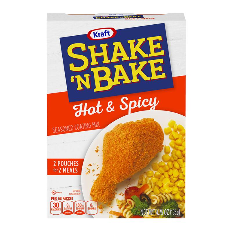 Shake 'n Bake Hot and Spicy, pangrattato piccante e speziato da 135g (1954206482529)