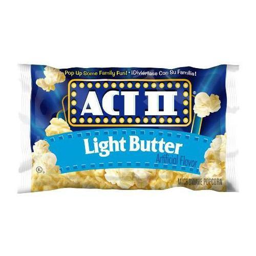 Act II Popcorn Light Butter, popcorn light al burro da 78g (1954208874593)