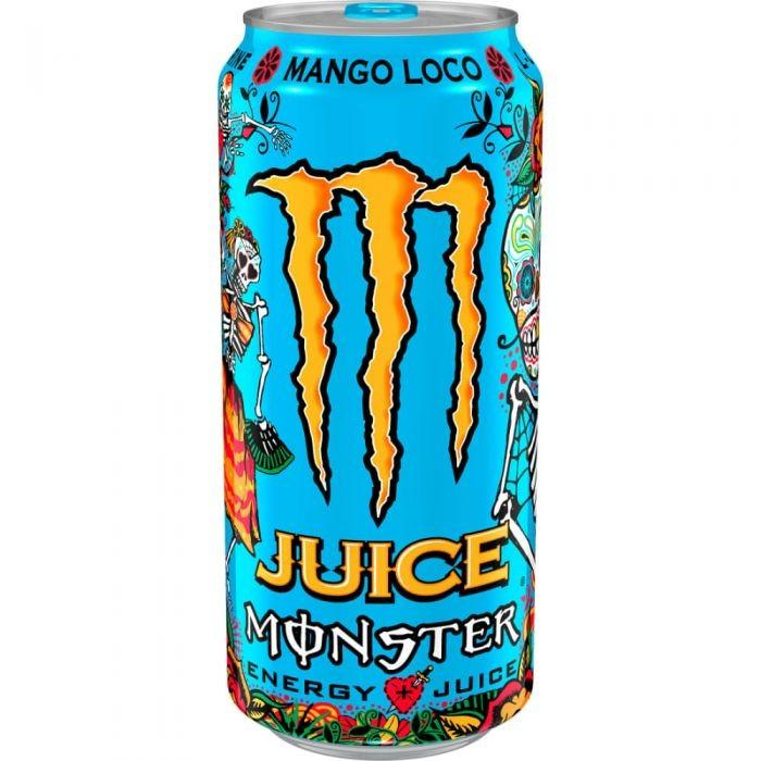 Monster Juice Mango Loco, energy drink al mango da 473 ml (1954237284449)