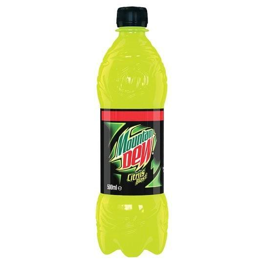 Mountain Dew Citrus Blast, soda al limone da 500 ml (1954210119777)