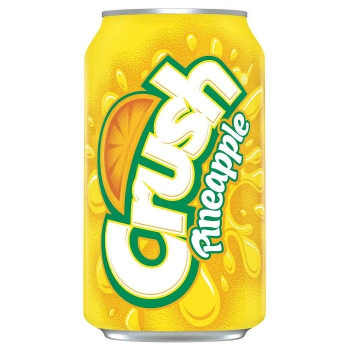 Crush Pineapple, bevanda all'ananas da 355 ml (1954209857633)