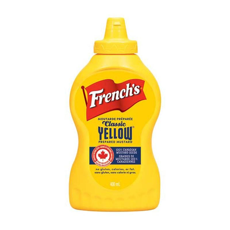 French's Classic Yellow Prepared Mustard
