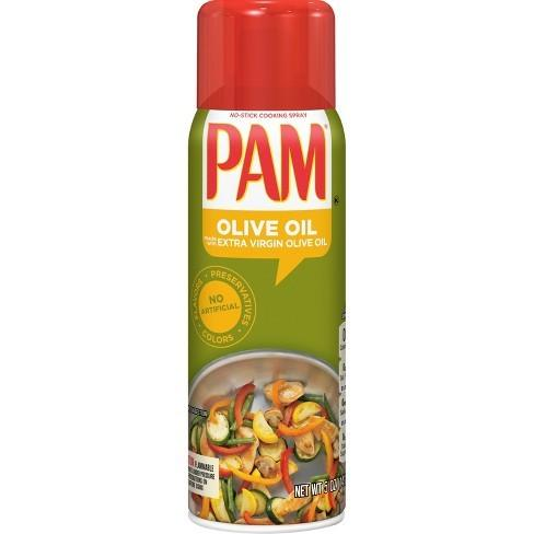 Pam Olive Oil Cooking Spray, condimento spray all'olio di oliva da 141g (1954238234721)