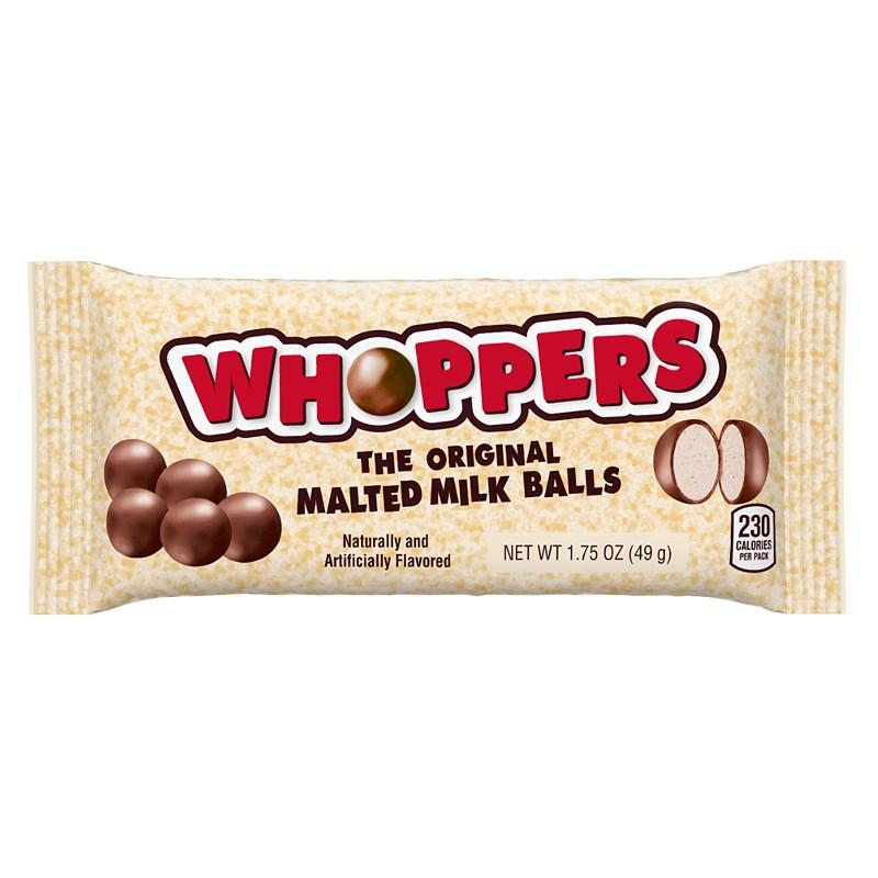 Whoppers The Original Malted Milk Balls, cioccolatini al latte da 49g (1954239119457)