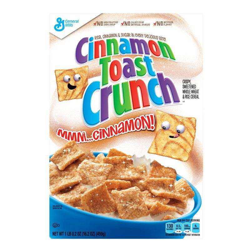 Cinnamon Toast Crunch, cereali alla cannella da 345g (1954242986081)