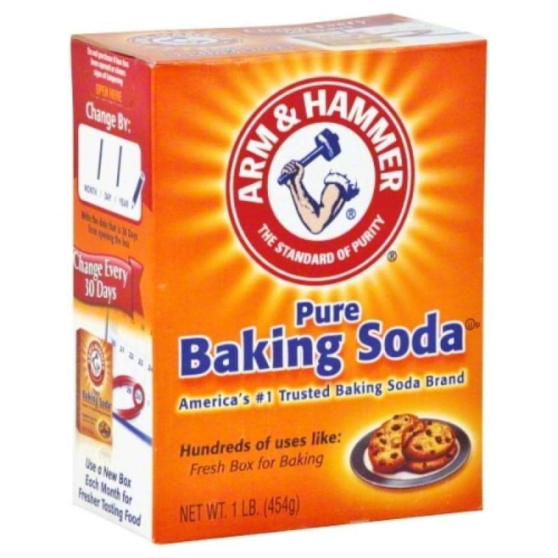 Arm and Hammer Baking Soda, bicarbonato di sodio da 454g
