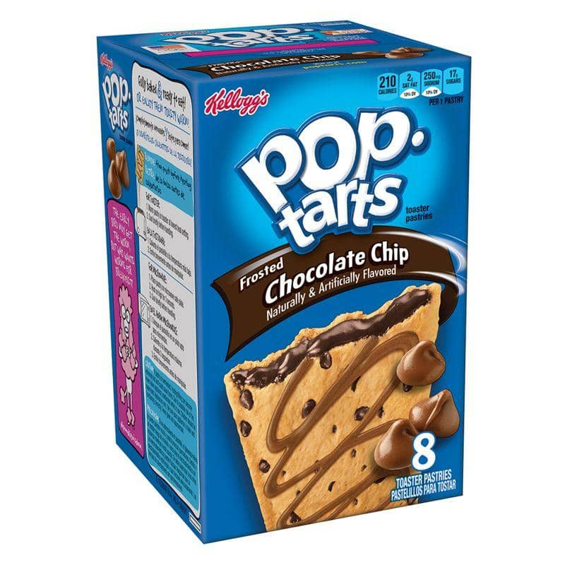 Pop Tarts Frosted Chocolate Chip, biscotti ripieni al cioccolato da 416g (1977191792737)