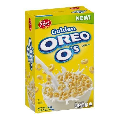 Oreo O's Golden Cereal