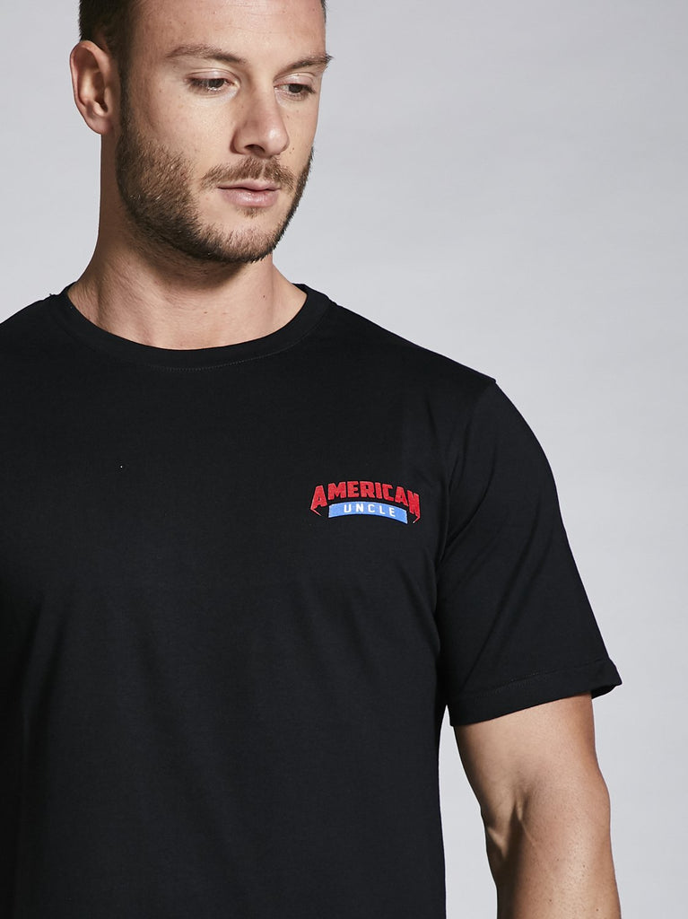 AU American Sports, Tshirt regular, Uomo, 5 colori