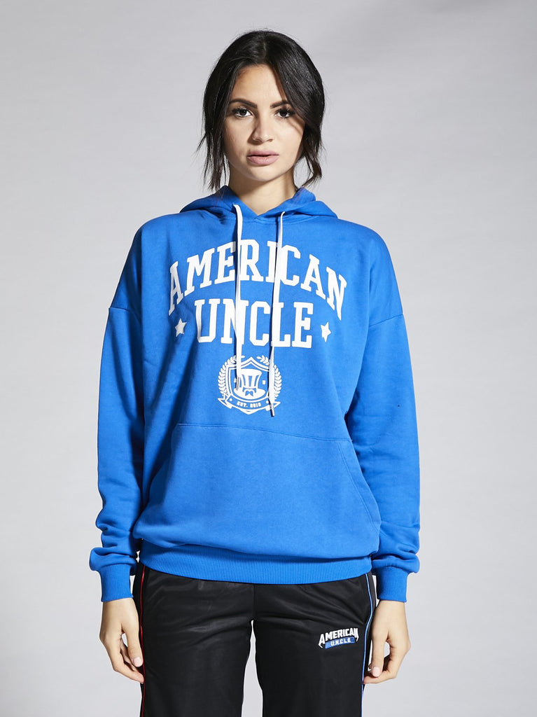 AU American University, Felpa over con cappuccio, Donna, 5 colori