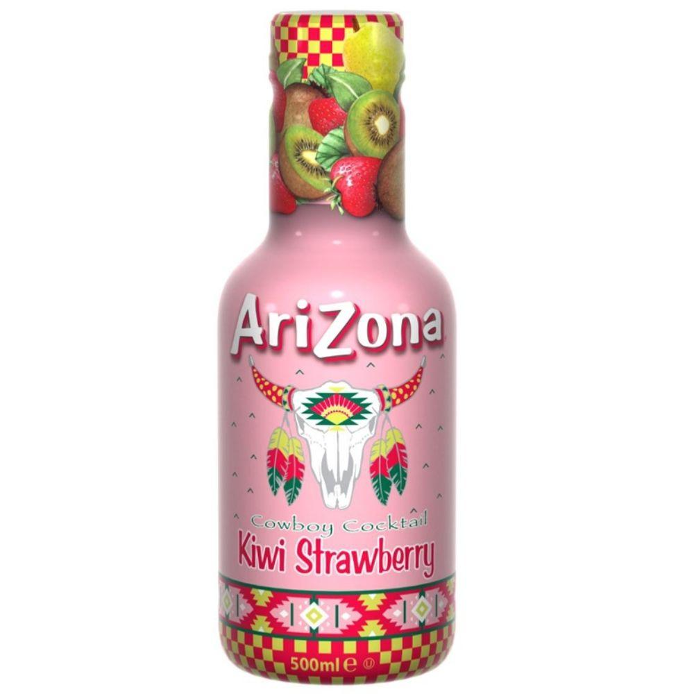 Arizona Cowboy Cocktail Kiwi Strawberry 500ml