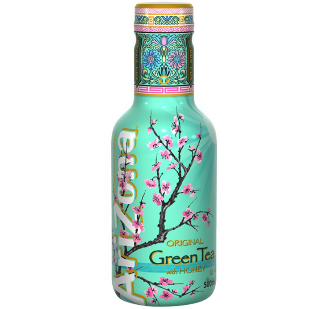 Arizona Green Tea with Honey, te' verde al miele da 500ml (4516972888161)