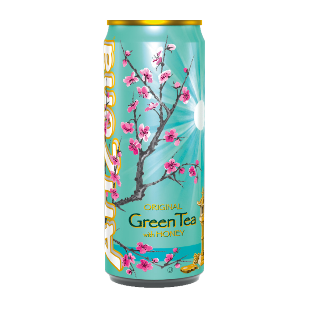Arizona Green Tea with Honey, te' verde e miele da 330 ml (1954229616737)