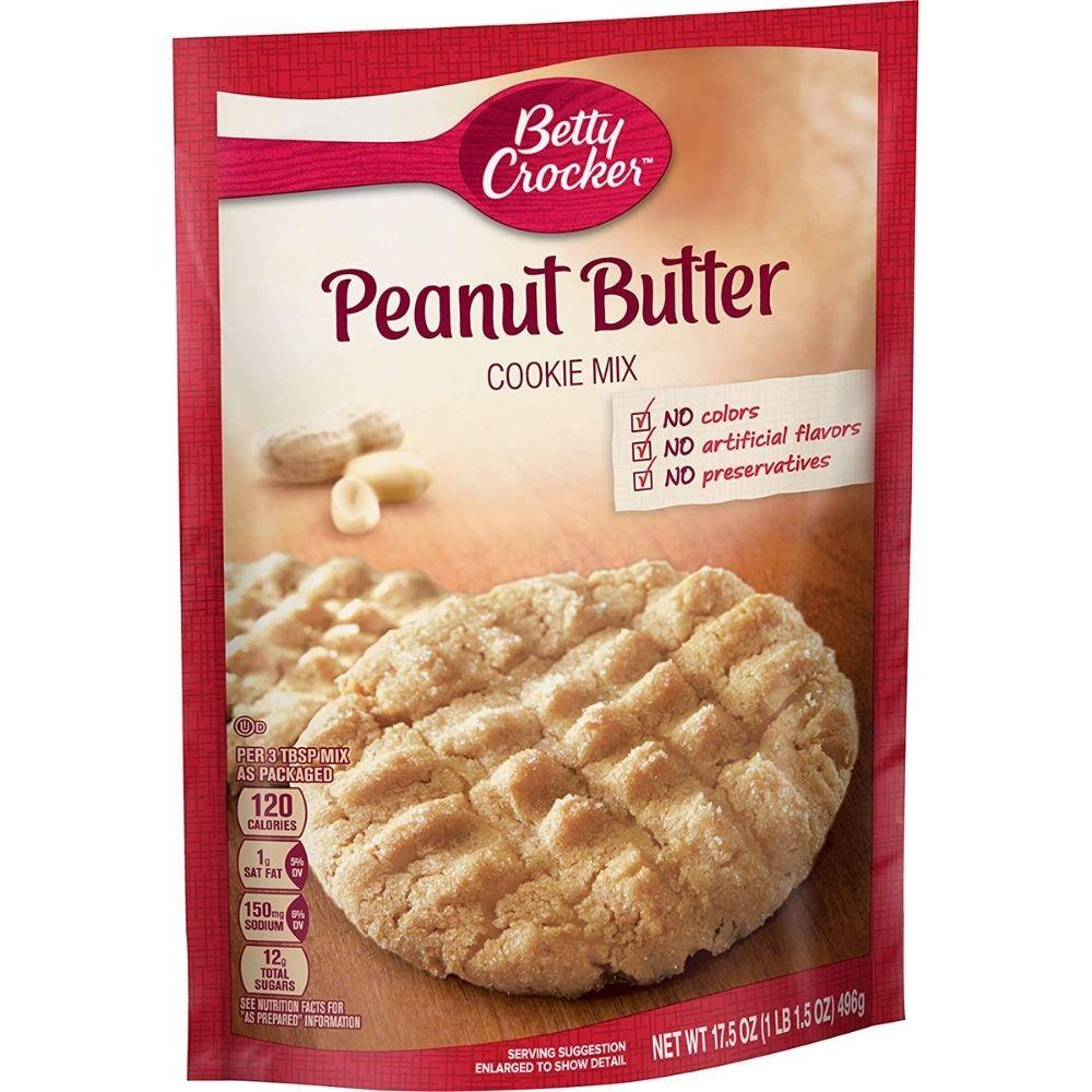 Betty Crocker Cookie Mix Peanut Butter Maxi 400g