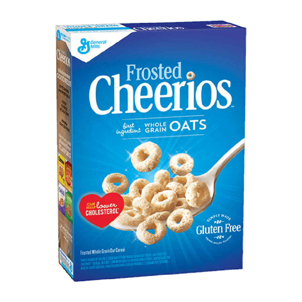 Cheerios Frosted, cereali all'avena glassati da 300g (4415197347937)