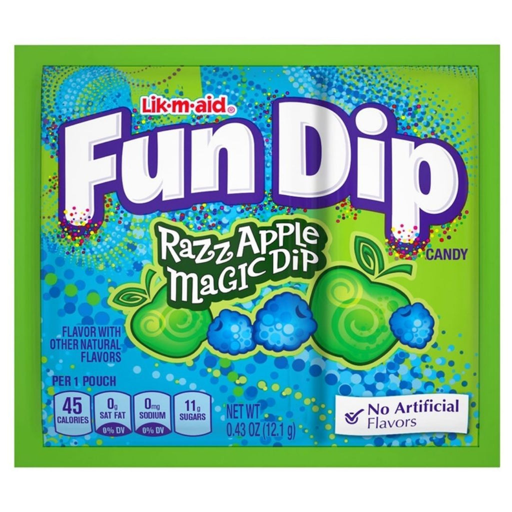 Fun Dip Ruzz Apple Magic Dip