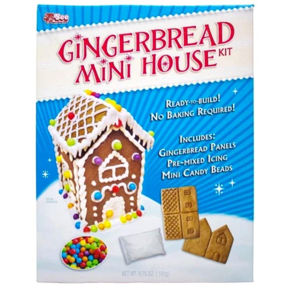 Gingerbread Mini House Kit
