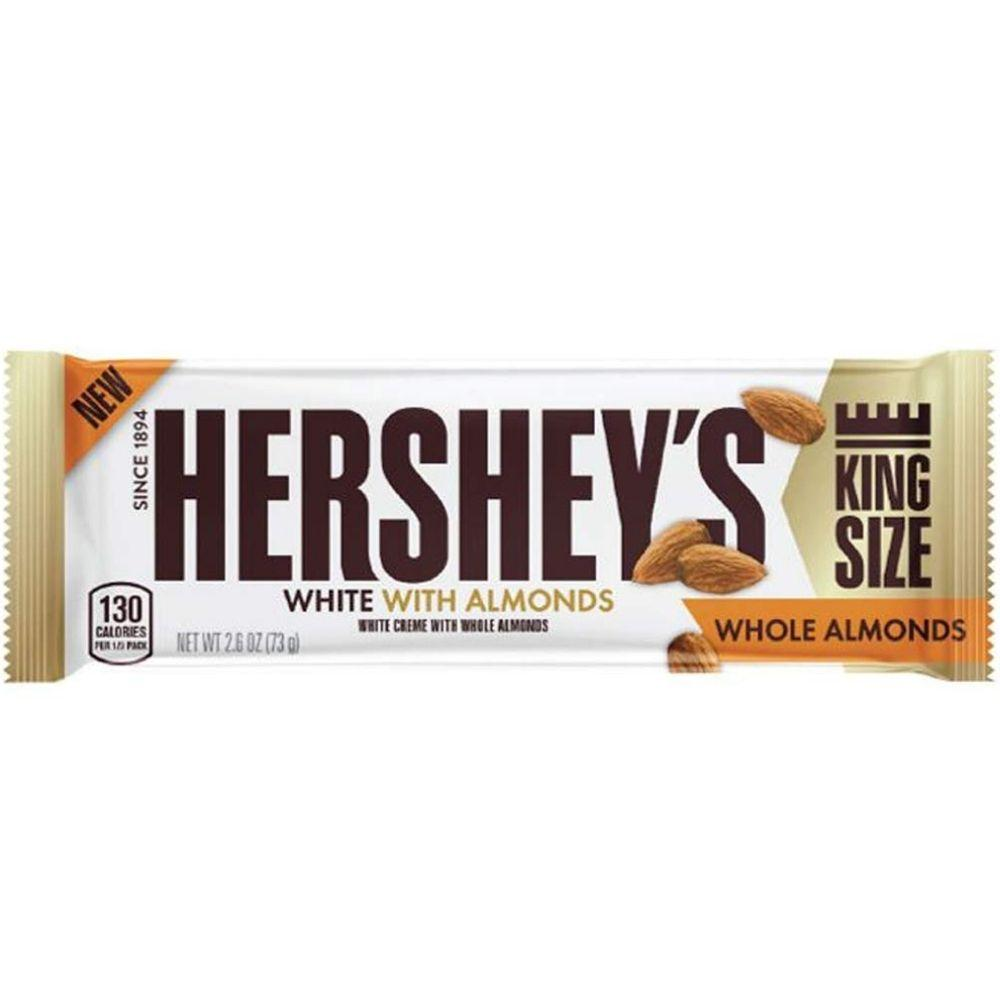 Hershey's White Creme With Almond King 73g