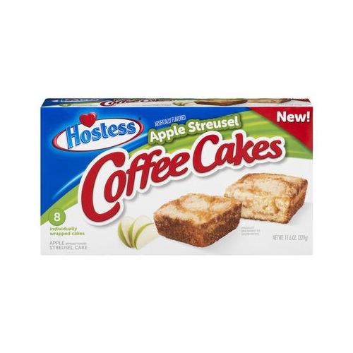 Hostess Apple Streusel Coffee Cake