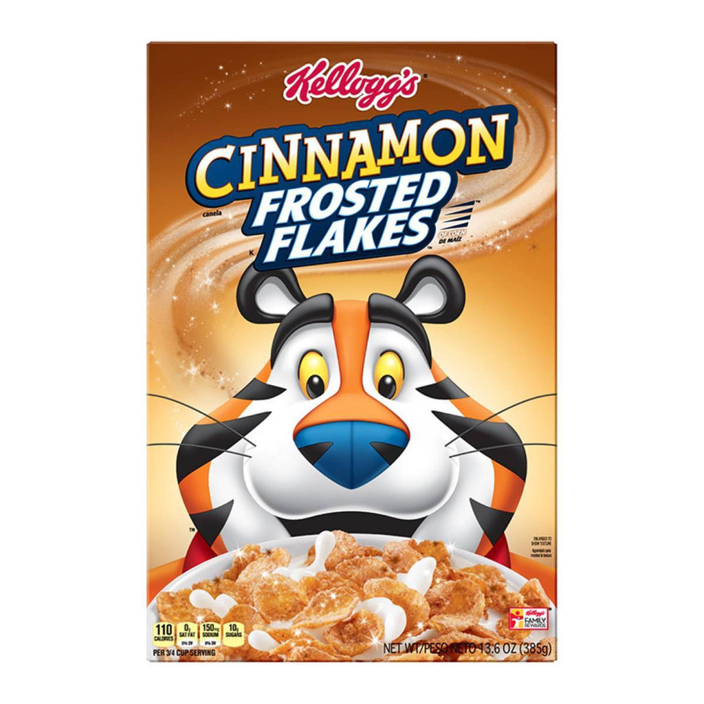 Kellogg's Cinnamon Frosted Flakes Family Size