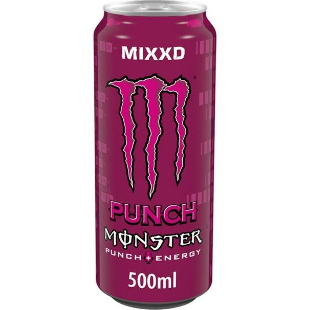 Monster Punch Energy, energy drink alla frutta da 500ml